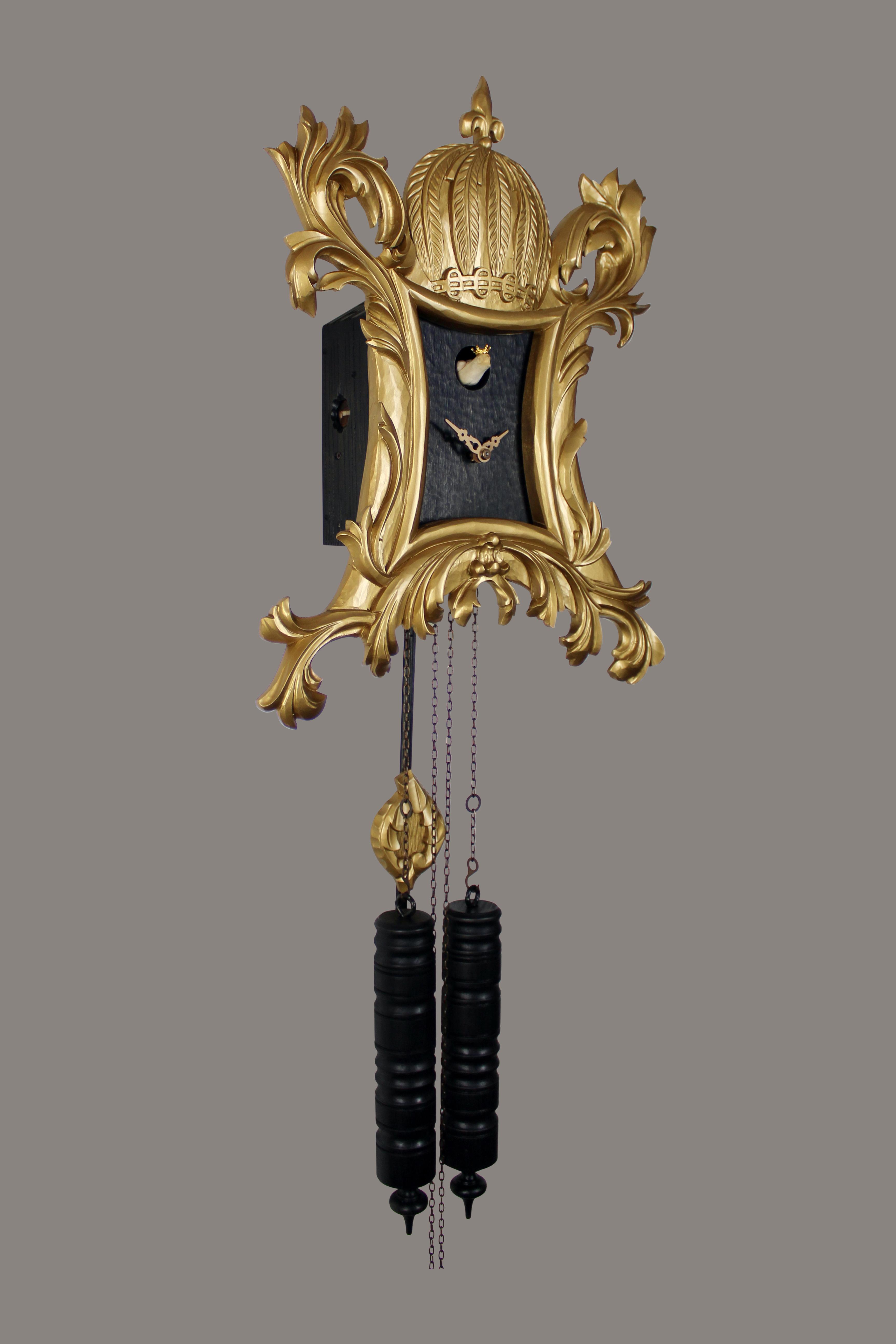 Pompöös Cuckoo clock designed by Harald Glööckler
