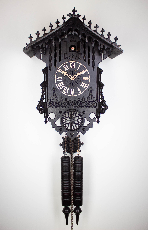 8 Days Cuckoo Clock Gothic 1850