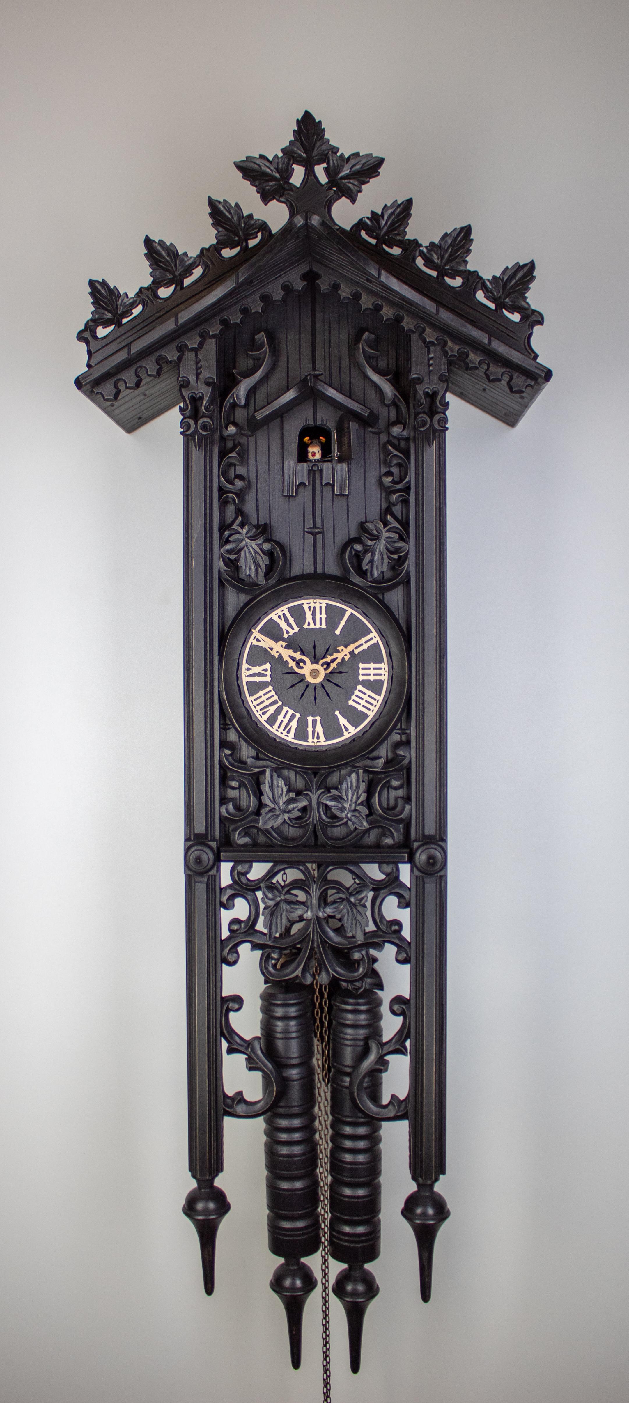 "8 Days Cuckoo Clock Railroad House (""Bahnhäusle"") long"