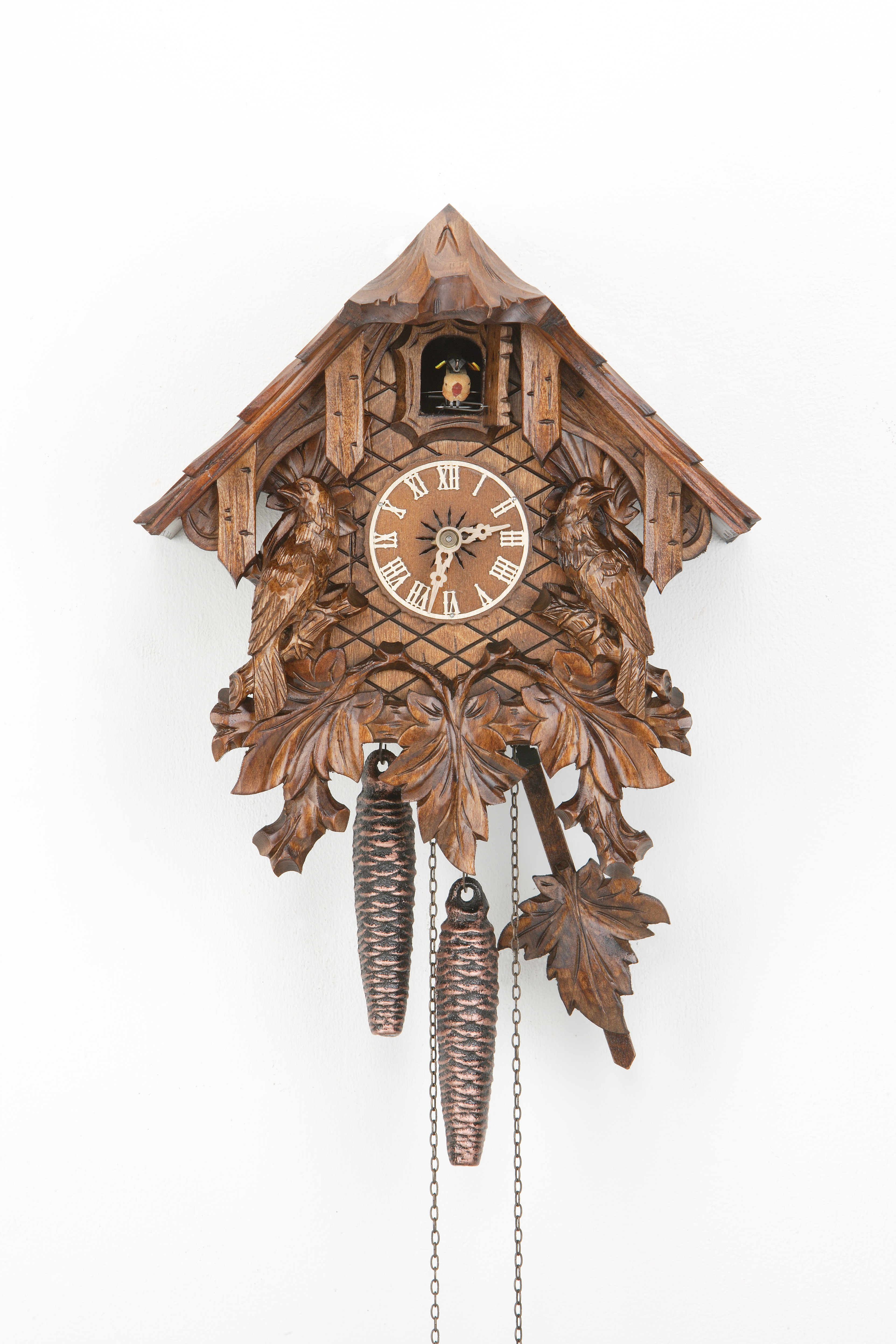 1 Day Cuckoo Clock Black Forest House with cuckoo family
