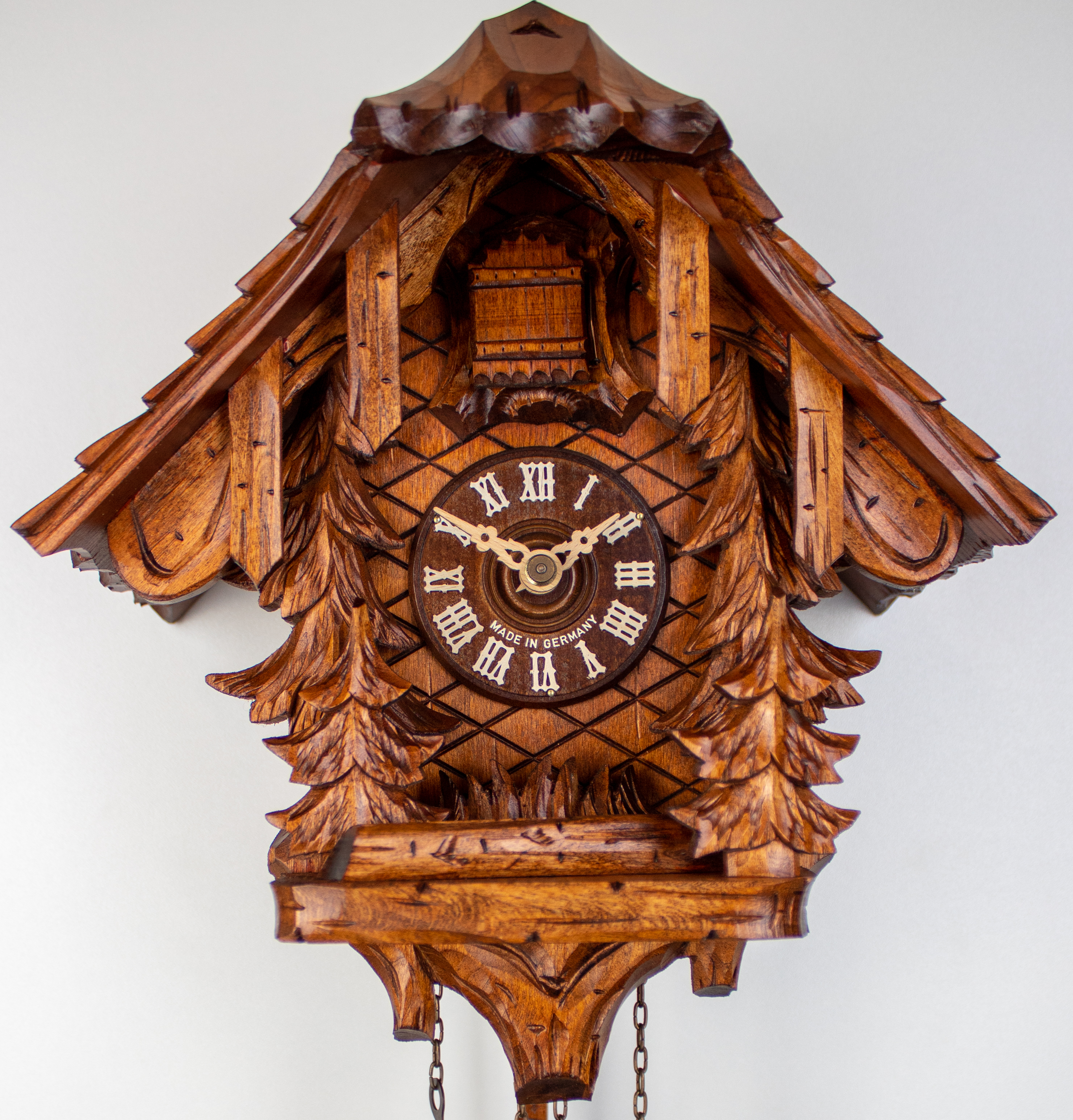 8 Days Cuckoo Clock Black Forest House